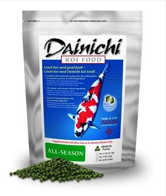 Dainichi All-Season Food LARGE Pellets | Fish Food