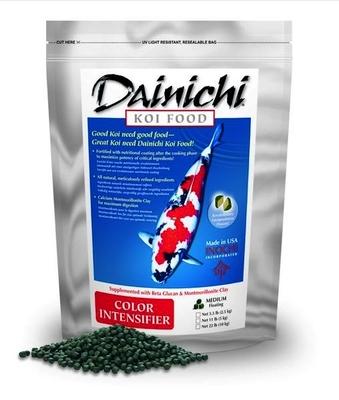 Dainichi Koi Food Color Intensifer | Fish Food