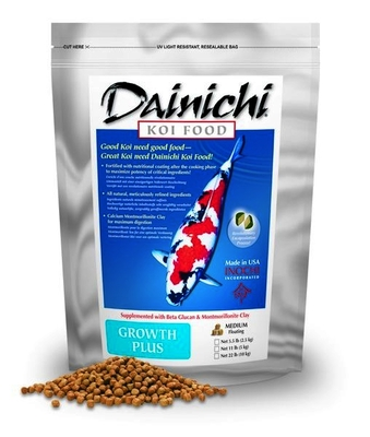 Dainichi Growth Plus SMALL Pellet | Fish Food