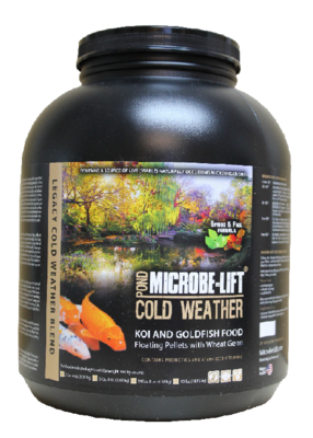 Microbe-Lift Cold Weather Food - Wheat Germ | Fish Food